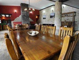 Casa rural (alquiler íntegro) Estancia Macondo para 20 personas