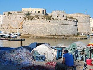 Gallipoli appartamento per vacanze a solo 150 metri dalla spiaggia 6 posti letto