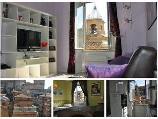 Luminoso ed elegante appartamento al centro di Roma con vista Citta del Vaticano