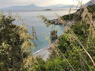 Porzione di Villa direttamente a picco sul mare