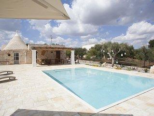 Trullo Oasi Santo Stefano - private pool