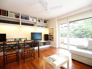 Urbanización Errezubi - Apartamento para 5 personas a 400 mts. de la playa.