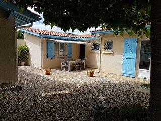 Lacanau-Océan: Maison individuelle avec jardin