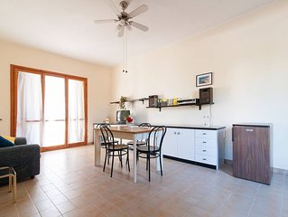 Quiet Salento apartment in Nardo with WiFi, private parking & balcony.