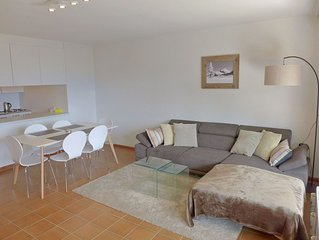 Nice apartment for 3 people with internet, TV, balcony, pets allowed and parking