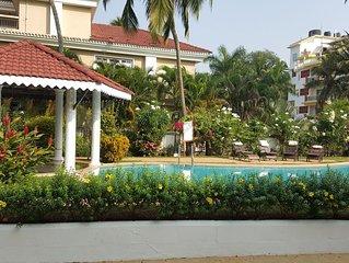 1 Bed Luxurious Villament in South Goa