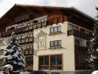 Spacious chalet apartment in traditional Austrian ski resort of Altenmarkt