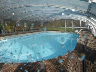 La Maison dans la Foret avec piscine-acces direct au Massif des 3 pignons