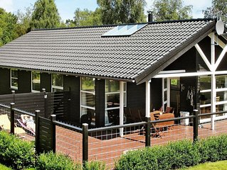 Swanky Holiday Home in Hadsund with Sauna