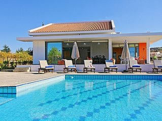 Villa Sophia Latchi with Private Pool and amazing sea views