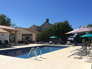 New 2018 beautifully renovated house, heated pool, Vendee, Deux Sevre border