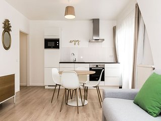 Lia - Beautiful 1bdr in the European District, Brussels