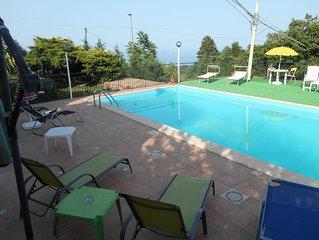 Panoramicissima Casavacanza in Villa con  piscina ' SoleMare'