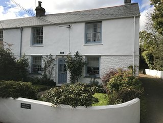 Idyllic village cottage between Falmouth and Truro with easy access to  coasts