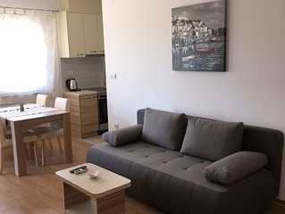 Apartment Martin,in centar of Privlaka,across the old church,300m from the beach