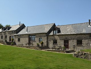 From £10 pppn. A pet-friendly spacious barn conversion in Exmoor National Park