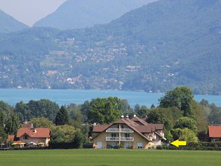 Appartement lumineux 87 m2 proche du Lac d'Annecy