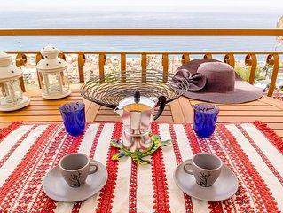 Il Nido sul Mare - Taormina con vista mare