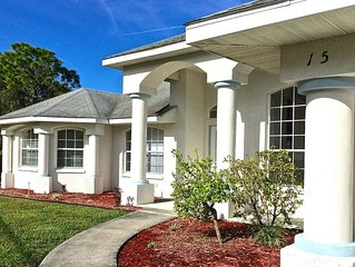 Paradise by lakeside & views over golf course, fantastic 2 master suites