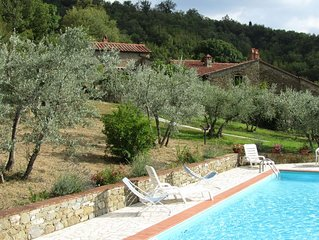 Super deal - homeaway:  Family Tuscan Cottage, 2 bedrooms, with pool
