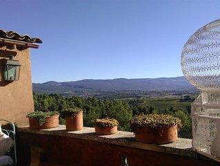 """Roussillon : """"Les Terrasses"""", maison de village"""