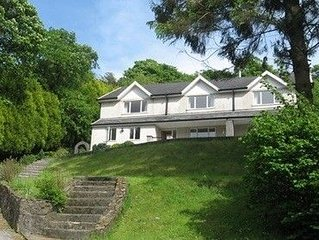 Windways. Large detached house in beautiful Afan valley..