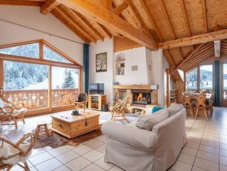 Appart 140m2 10 to 12 pers Courchevel 1300 Le Praz ski-in / ski-out on the slope
