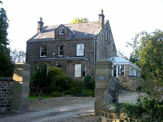 Victorian Detached Stone Built 'Gentleman's Residence' sleeps 13