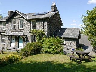 Idyllic, traditional 3 bedroom Lakeland Cottage close to Hawkshead