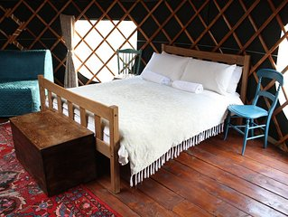 Willow Yurt - One Bedroom Camping, Sleeps 5