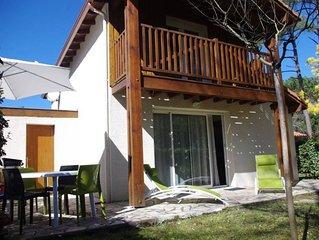 Soustons Plage: Villa 150m du lac marin