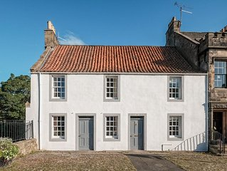 A spacious house of great charm and beauty in the historic village of Falkland
