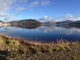 Seaview location in Inverarary, historic cottage within walking distance of town
