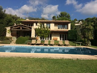 Splendid villa in Saint Paul de Vence