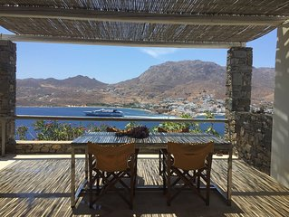 House in Serifos island for family with  a wonderful view
