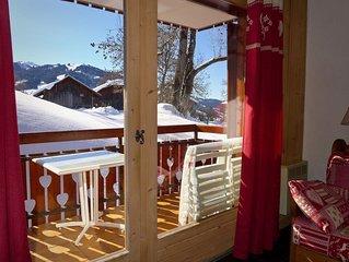 Megève Mont d Arbois - Appartement belles prestations dans résidence chalet