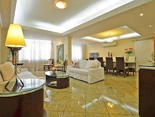 Apartamento espaçoso e luxuoso em Copacabana para 7 pessoas!