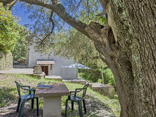 Petite Maison pour les vacances en pleine nature.