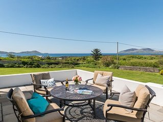 Delightful two bedroom cottage with incredible views over the sea
