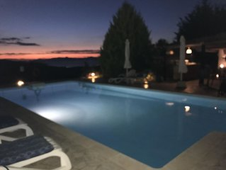 Luxury apartments with magnificent sea views. Gorgeous pool with terrace