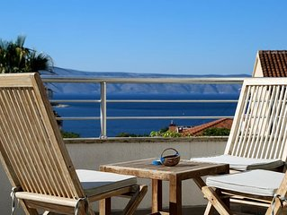 Three bedroom apartment with terrace and sea view Jelsa (Hvar) (A-5703-b)
