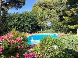 Villa in Anacapri with swimming pool