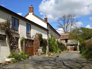 A Large Family Luxury Holiday Cottage in North Devon near Dulverton / Exmoor