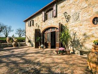 Villa Gaiole - Beautiful villa in the heart of Chianti area