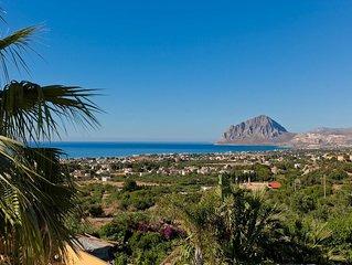 Villa Erice - Villa with pool close to Erice in Sicily