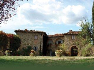 Villa charmante au sommet d'une colline avec des vues stupefiantes - piscine