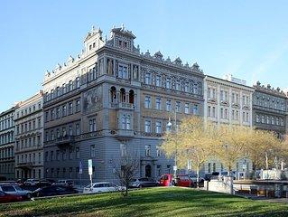 Unique, luxury apartment on the shores of the river Vltava in Prague's city cent