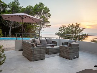 Casa AlMar. House (pool, seaview). Srida Sela - G Tucepi. Dalmatia (Croatia).