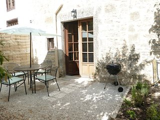 Newly renovated and well equipped gite in the heart of a picturesque village