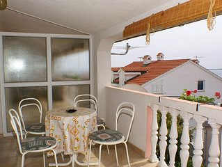 Two bedroom apartment with terrace and sea view Mandre (Pag) (A-523-d)